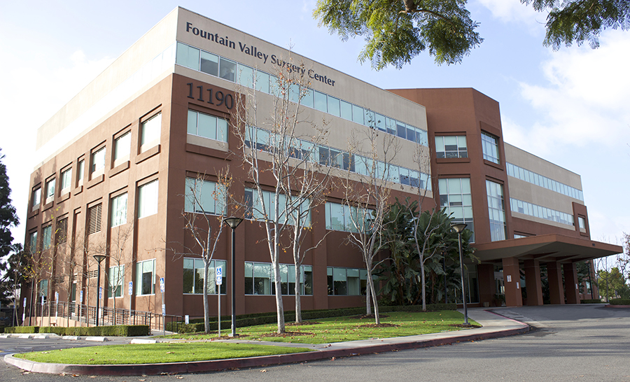 OC Hand Surgery Fountain Valley Office building