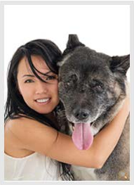 Dr. Chi photo with her dog